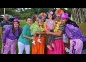 Payasos! títeres! ilusiones! animacion de fiestas infantiles!!