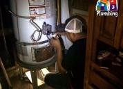 Plomero tecnico en calentadores de agua 24/7