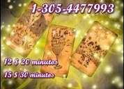 Tarot certero y directo ,1-305-4477993 visas  12$  20 minutos
