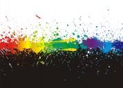 En los angeles, buscar trabajo usando tus 3 colores personalizados del éxito