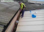 Ofrecemos servicios de limpieza de cubiertas