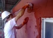Se realiza revestimiento de fachada en general