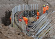 Construccion de muros de contencion