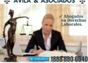 Abogados en despidos injustos y accidentes