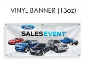 Vinyl banner free accessories & custom design