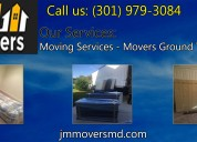 Jm movers, moving services in