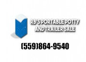 Rb's portable potty and trailers