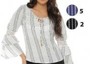 Hermosas blusas 100% colombianas