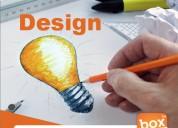 Graphic designer agencies box mark