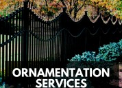 Ornamentation services - (773) 800 2524