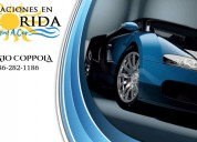 Vacaciones en florida rent a car
