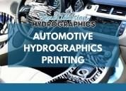 Atomotive hydrographics printing