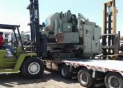 !centros de maquinado cnc,importamos y trasladamos maquinaria pesada
