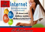 Lo mejor de internet es.. ( servicios de internet ) 100 mgb