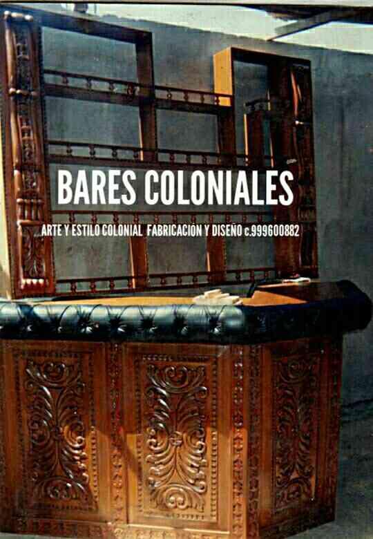 Fabricante dise ador de muebles coloniales peruano miami springs publicar f cil 19132 - Fabricante muebles ...
