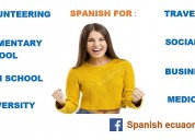 Spanish  classes / clases de espaÑol en quito