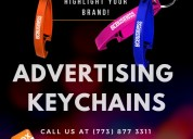 Keychains with custom logo for companies