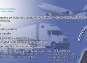 Importacion y transporte de maquinaria