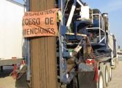 transporte de equipos especiales