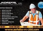 J & a asfaltos eirl emulsion asfaltica lenta.