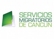 Migratory services in cancun