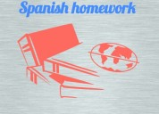Do you have spanish homework?