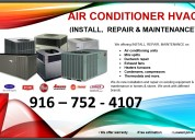 Install,  repair & maintenance hvac