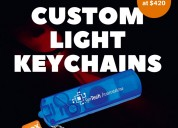Custom light keychains usa  | boxmark