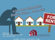 Got bad tenants? call us/property management servi