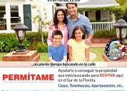 House for rent en florida, ee.uu