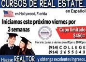 Cursos real estate en espaÑol, florida-ee.uu