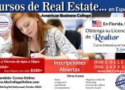 Cursos de real estate en espaÑol, florida-ee.uu
