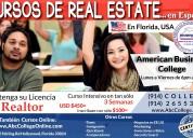 Cursos de real estate en espaÑol, hollywood-florid