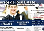 Cursos real estate en espaÑol, florida-usa