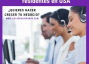 Base de datos hispanos en estados unidos para tele