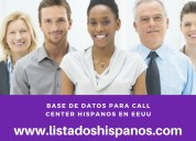 base de datos call center eeuu
