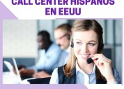 Base de datos call center hispanos