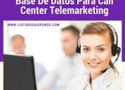 base de datos para call center hispanos en eeuu