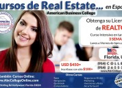 Cursos real estate en espaÑol,  hollywood, florida