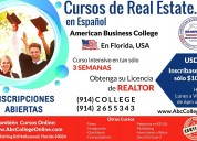 Cursos real estate en espaÑol, en florida-usa