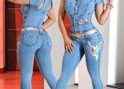 Pantalones levanta cola colombianos, blusas