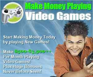 Video Game Tester Job
