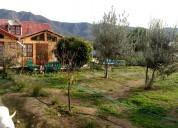 Hermosa casa con piscina y gran terreno en chile