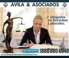 Abogado en Accidentes/Lesiones y Despidos Injustos