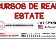 real estate en espaÑol, curso en ee.uu