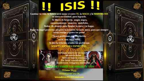 Maestra luna de Isis