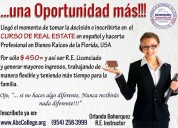 Real estate curso en español