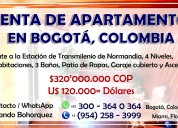 Venta de apartamento en bogotÁ, colombia