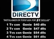 directv a $35.00 con grabaciÓn.  directv, desde $