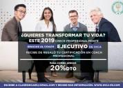Coaching ejecutivo/empresarial y profesional